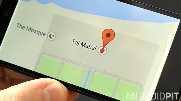 поделиться местоположением androidpit
