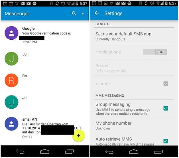 AndroidPit леденец смс 2