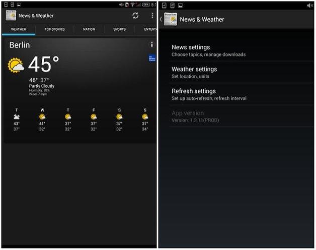 androidpit xperia z3 tablet компактные виджеты