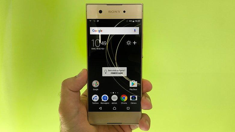 AndroidPIT Sony Xperia XA1 3