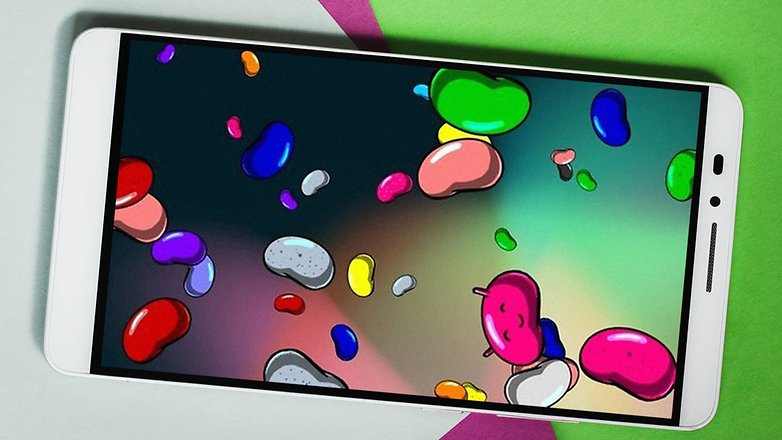 AndroidPIT ANDROID Пасхальное яйцо Jelly bean