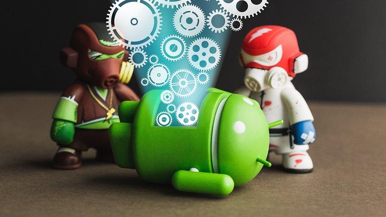AndroidPIT режим восстановления корневой флеш-памяти fastboot 1007 gears