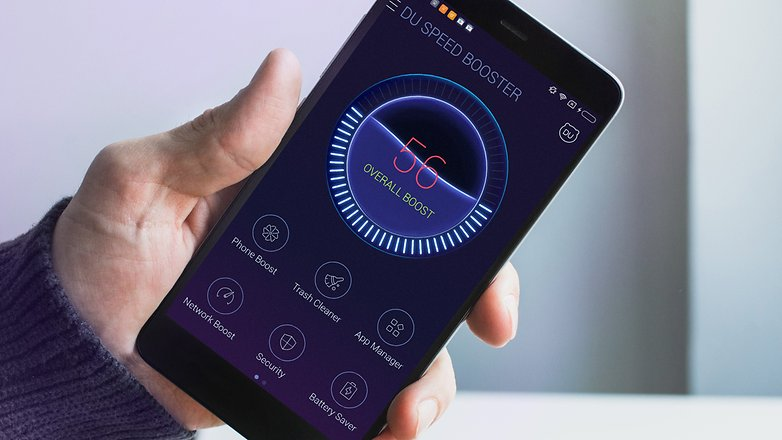 AndroidPIT du Speed Booster
