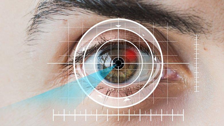 Сканер датчика глаза AndroidPIT