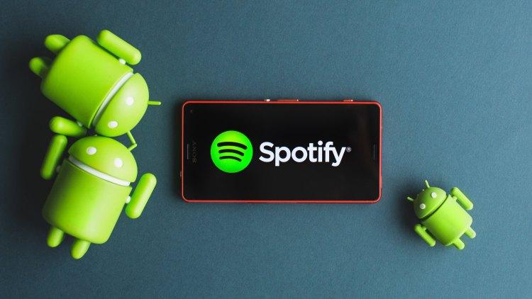 Aplikasi Android: Spotify.