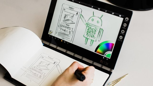 Test Book Yoga A Tablet Of A New Kind