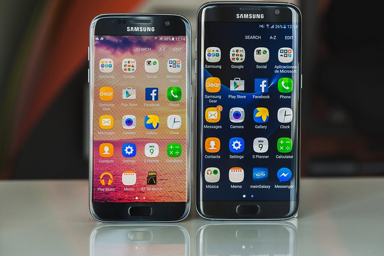 AndroidPIT galaxy s7 vs galaxy s7 edge 8