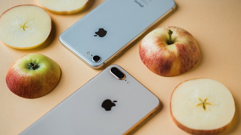 AndroidPIT Apple iphone 8 0238