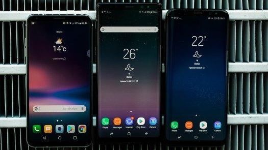 AndroidPIT glaxy note 8 vs lg v 30 vs s8 9994