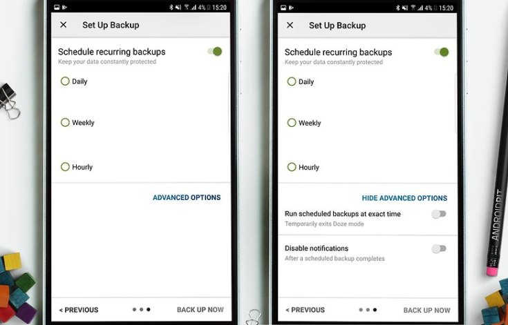 AndroidPIT sms backup 5