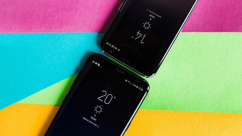 AndroidPIT Samsung Galaxy S8 против S8plus 2062