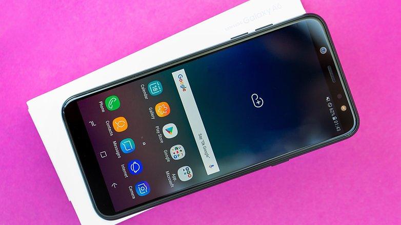 AndroidPIT Samsung Galaxy A6 8773