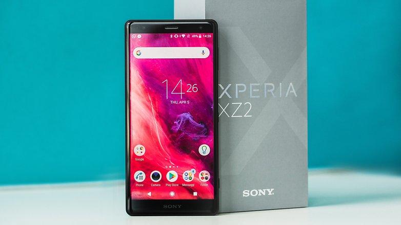 AndroidPIT sony xperia xz2 3116