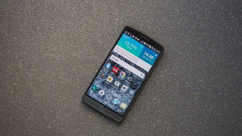 AndroidPIT LG G3 герой 1