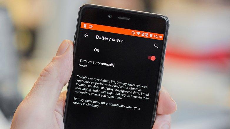 Советы по работе с батареей AndroidPIT OnePlus X 3