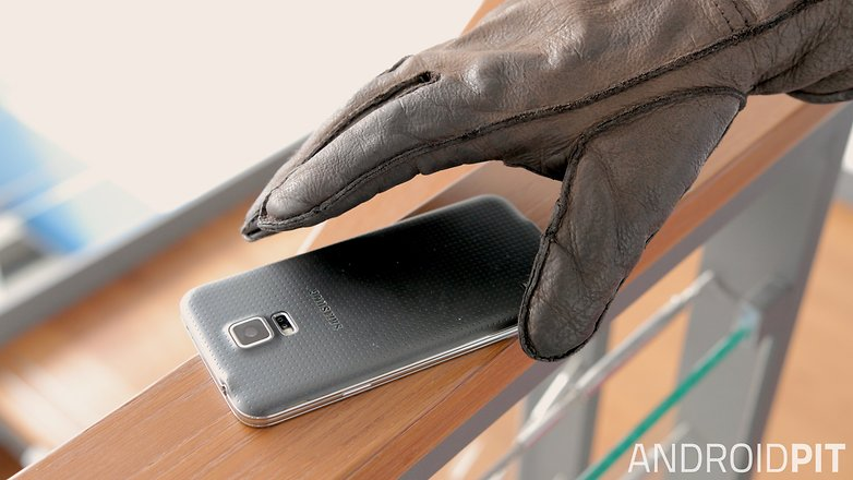 украденный смартфон