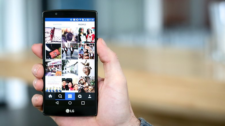 AndroidPIT поисковый тизер в Instagram