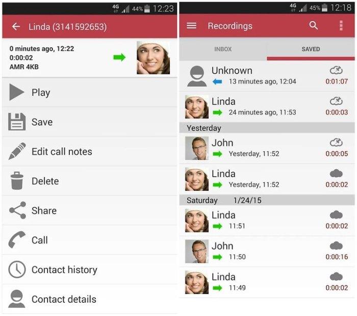 androidpit автоматический регистратор звонков