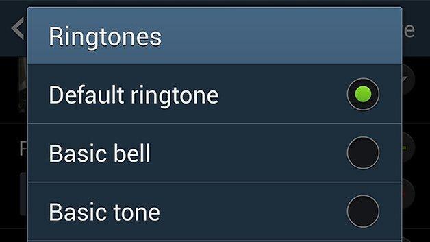 Рингтоны AndroidPIT Galaxy S4
