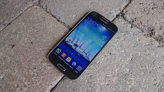 AndroidPIT Galaxy S4 Stone