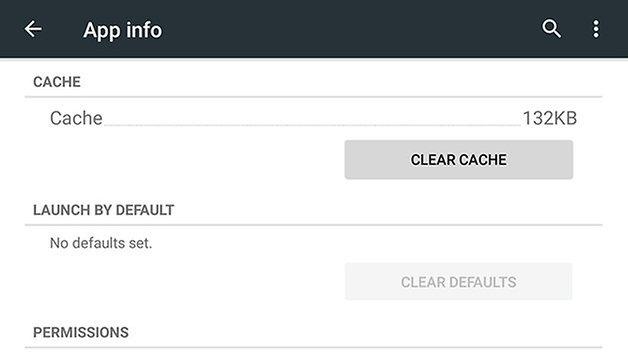 Кеш приложения AndroidPIT nexus 7 2013