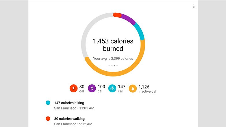 androidpit google fit ii