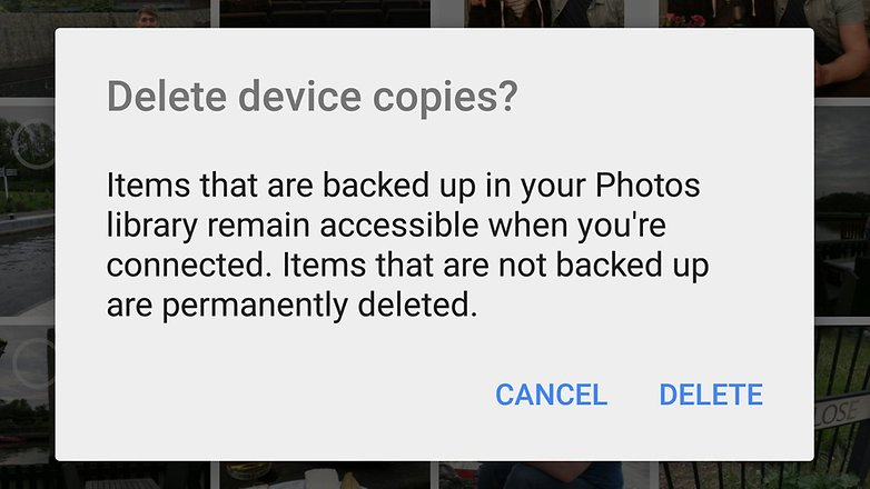 androidpit google photos удалить
