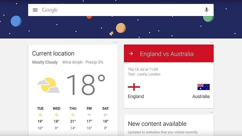 androidpit новый пользователь Google сейчас