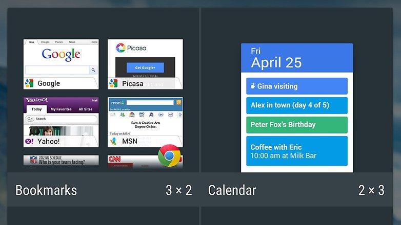 androidpit новые пользовательские виджеты