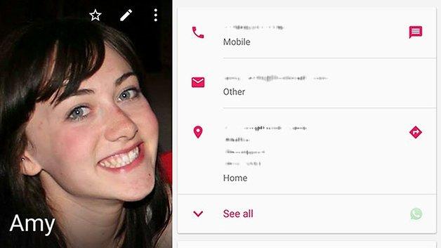 androidpit nexus 6 контактная карта
