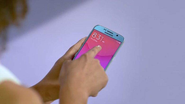 androidpit экран телефона samsung