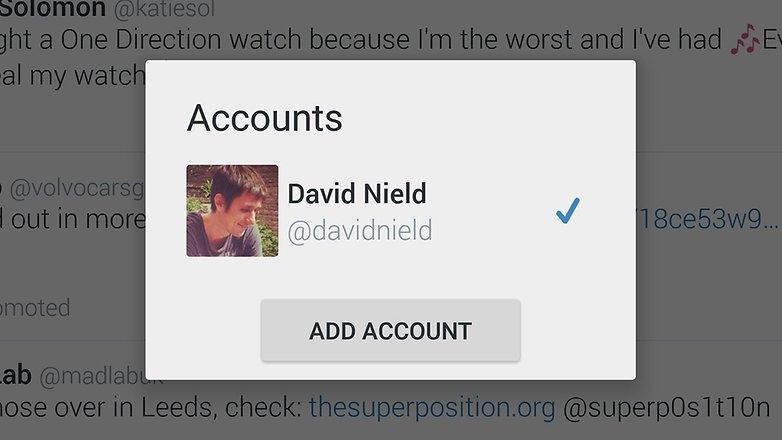 androidpit twitter добавить учетные записи