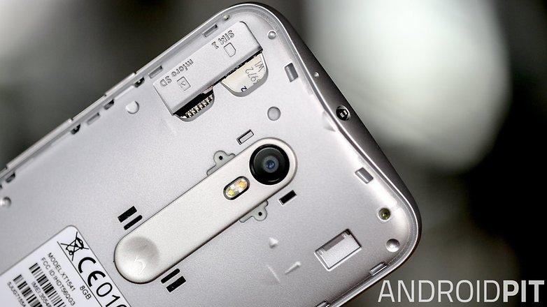 Moto G 2015 SIM-карта MICRO SD 1