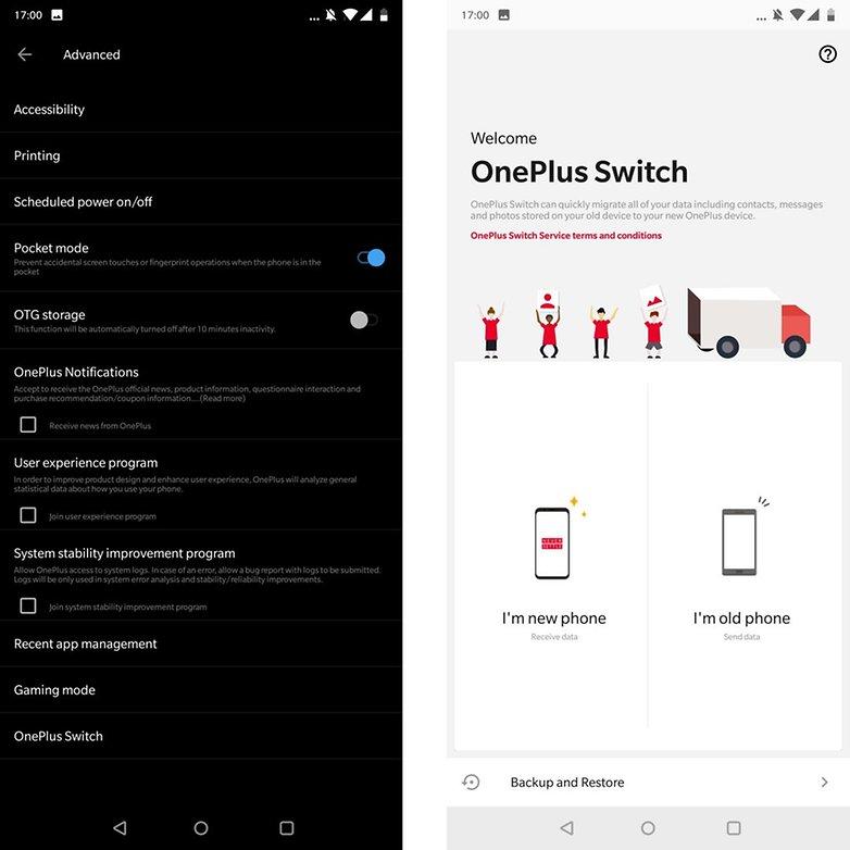 OnePlus 6 советов переключателя трюков