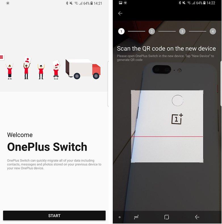 переключатель androidpit oneplus