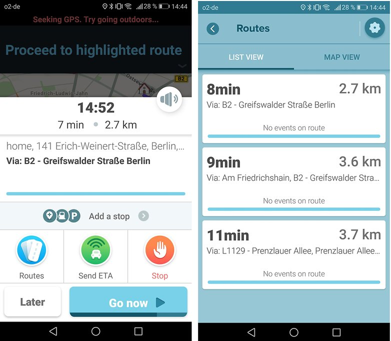 waze маршруты androidpit