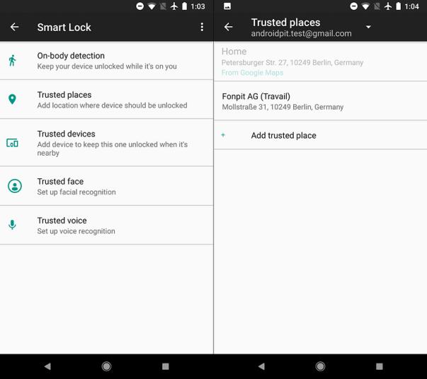 androidpit smart lock w782 - ثلاثة مزايا هامة وأساسية عليك التأكد من تفعيلها في جوالك فورًا عند شراءك لجوال جديد