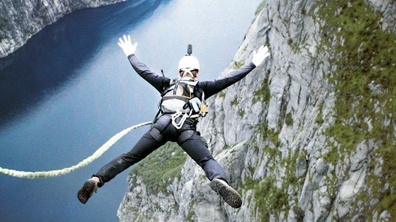 insta360 x one bungee jump