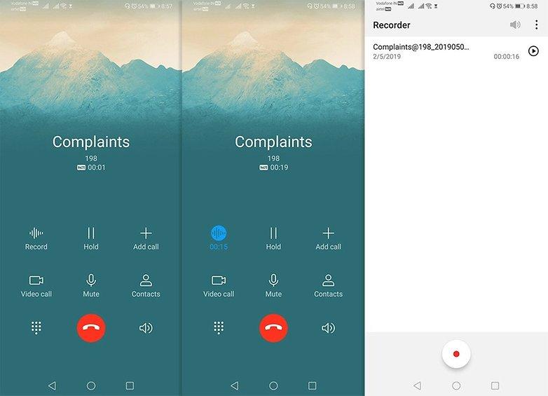 Регистратор звонков Huawei