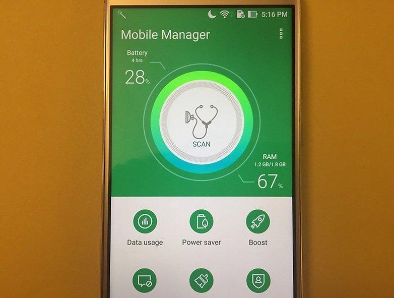 ZenFone 3 Мобильный менеджер