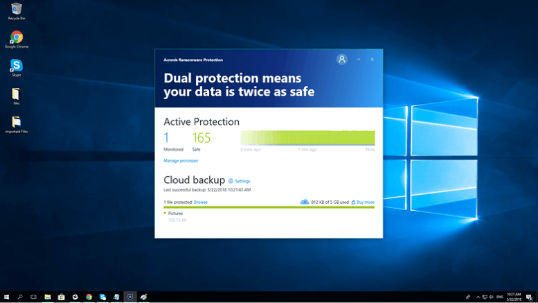 acronis active protection cloud backup