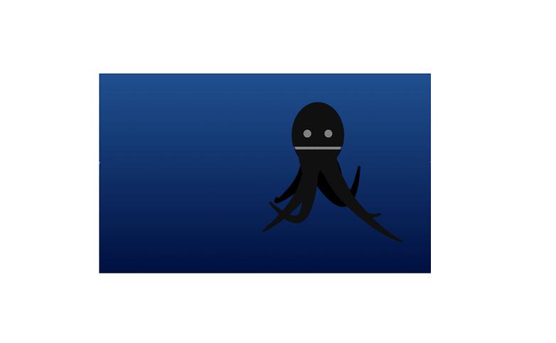 осьминог пасхальное яйцо