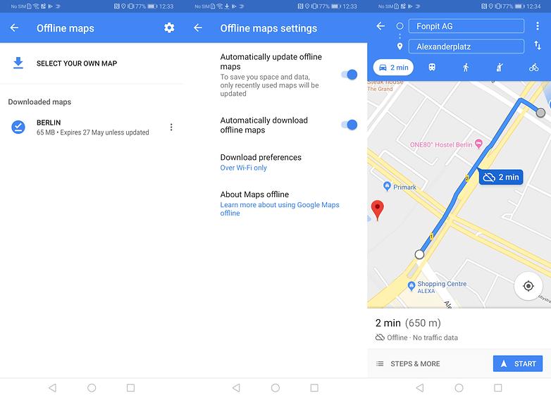 cara menggunakan google maps offline2