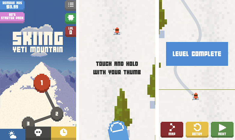 skiing yeti mountain best free games