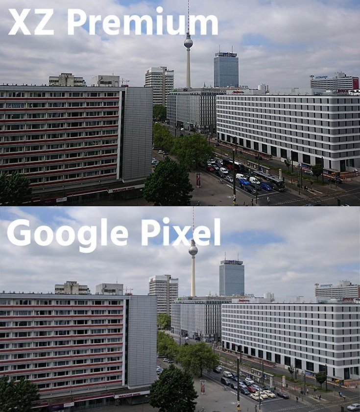 hdr xz premium vs pixel