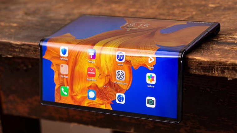 AndroidPIT huawei mate xs on the edge