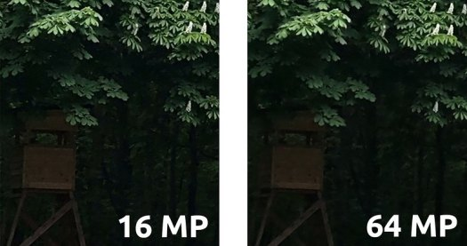 AndroidPIT motorola edge image quality 64 vs 16 mp