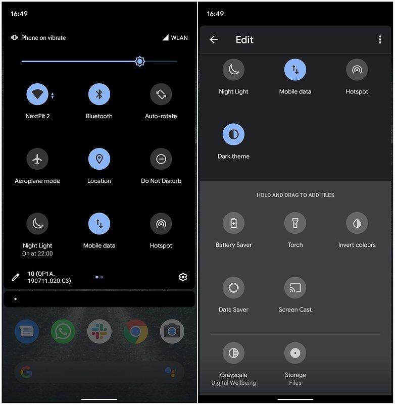 иконки android 10
