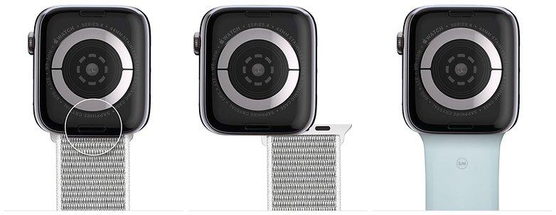 apple watch series4 сменный ремешок