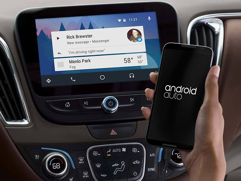 facebook android авто